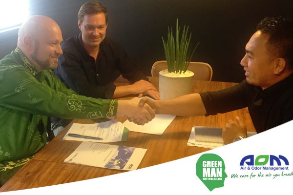 Greenest Man on the Planet with AOM Philippines